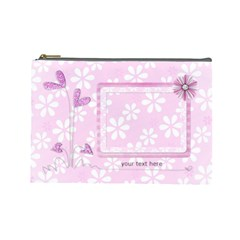 Xl Cosmetic Bag By Laurrie   Cosmetic Bag (large)   Dkj2exdp46f6   Www Artscow Com Front