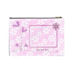 Xl Cosmetic Bag By Laurrie   Cosmetic Bag (large)   Dkj2exdp46f6   Www Artscow Com Back