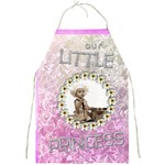 Our little princess full print apron
