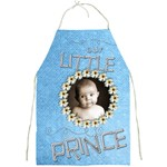 Our little prince full print apron