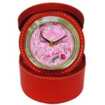Live EVERY Day inspirational Jewery Case Travel Clock - Jewelry Case Clock