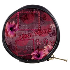 Love Notes N Butterflies Mini Makeup Bag By Ellan   Mini Makeup Bag   Dxl9n8u6325v   Www Artscow Com Front