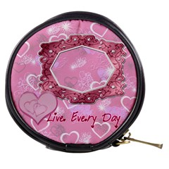 Live Every Day Mini Makeup Bag By Ellan   Mini Makeup Bag   5acz03dx89hx   Www Artscow Com Front