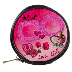 Love Life Mini Makeup Bag By Ellan   Mini Makeup Bag   Qjlfgk02uqag   Www Artscow Com Back
