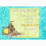 Weekend Getaway Shower Invite - 5  x 7  Photo Cards