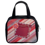 Red flower handbag - Classic Handbag (Two Sides)