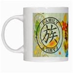 Family Japanese Symbol Mug - White Mug