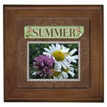 Summer Framed Tile