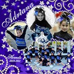 hornets2010-2011adriana - ScrapBook Page 12  x 12