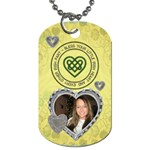 Bless Your Little Irish Heart Dog Tag - Dog Tag (One Side)