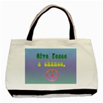 Give Peace a chance - Basic Tote Bag