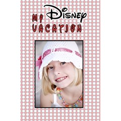 My Disney Vacation Girl Notebook By Danielle Christiansen   5 5  X 8 5  Notebook   F6p441op99q8   Www Artscow Com Back Cover