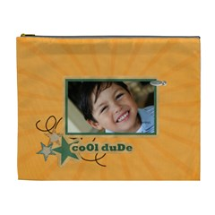 Cosmetic Bag (xl)   Cool Dude By Jennyl   Cosmetic Bag (xl)   R49kfhq7hgrm   Www Artscow Com Front