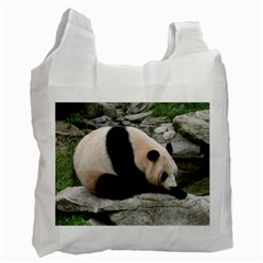 Giant Panda Recycle Bag (one Side) by ironman2222