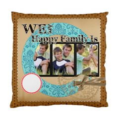 Happy Family By Joely   Standard Cushion Case (two Sides)   Dijf6u9ozpfe   Www Artscow Com Front