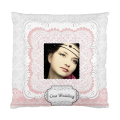 Wedding By Joely   Standard Cushion Case (two Sides)   Wlqxf22piwkq   Www Artscow Com Front