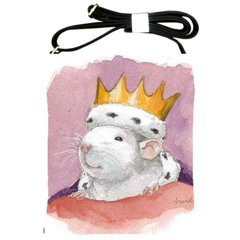 Rat King By Drusilla Kehl   Shoulder Sling Bag   Ogmj0e3nn1z8   Www Artscow Com Front