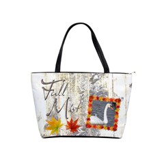 Fall Mist Classic Shoulder Bag By Catvinnat   Classic Shoulder Handbag   Ycgfskztk3e5   Www Artscow Com Front