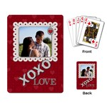 XOXO Playing Cards - Playing Cards Single Design
