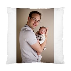 Father And Son Hug Cushion Case (one Side)