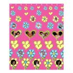 Hearts and Flowers Medium Shower Curtain - Shower Curtain 60  x 72  (Medium)