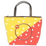 Dots bucket bag