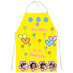 My Mum is a Sweety full Apron - Full Print Apron