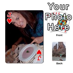 Jack Bri Card By Laura   Playing Cards 54 Designs   Ihec8uzpz7uj   Www Artscow Com Front - HeartJ