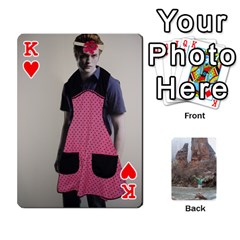 King Bri Card By Laura   Playing Cards 54 Designs   Ihec8uzpz7uj   Www Artscow Com Front - HeartK