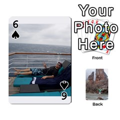 Bri Card By Laura   Playing Cards 54 Designs   Ihec8uzpz7uj   Www Artscow Com Front - Spade6