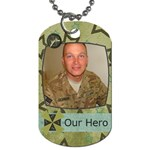 Our Hero Dog Tags - Dog Tag (One Side)