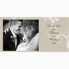 Wedding Cards By Lacy   4  X 8  Photo Cards   M4ek68iatk75   Www Artscow Com 8 x4 Photo Card - 16