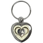Paper Heart Keyring - Key Chain (Heart)
