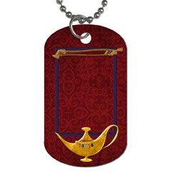 Magic Carpet Ride 2 Sided Dogtag 1 By Lisa Minor   Dog Tag (two Sides)   Xkmkw6s2lh53   Www Artscow Com Front