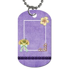 Magic Carpet Ride 2 Sided Dogtag 1 By Lisa Minor   Dog Tag (two Sides)   Xkmkw6s2lh53   Www Artscow Com Back