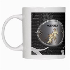 Aquarius Zodiac Mug By Lil    White Mug   Op681j6is2je   Www Artscow Com Left