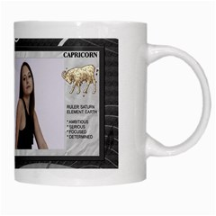 Capricorn Zodiac Mug By Lil    White Mug   Rzt2tdajcbmt   Www Artscow Com Right