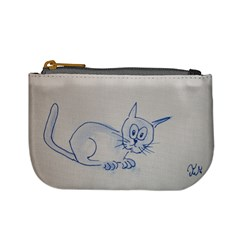 2cat By Trine   Mini Coin Purse   Pvmljf9zyjzk   Www Artscow Com Front