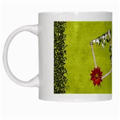 Spring Mug By Elena Petrova   White Mug   1jxbcqe1efmh   Www Artscow Com Left