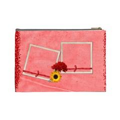 Love You,mom By Elena Petrova   Cosmetic Bag (large)   Evx5ibyv3y89   Www Artscow Com Back