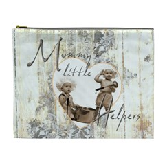 Mommy s Little Helpers Extra Large Cosmetic Bag By Catvinnat   Cosmetic Bag (xl)   Vtlrg36fqj1v   Www Artscow Com Front