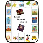 ellies school blanket - Fleece Blanket (Mini)