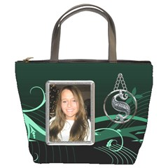 Green Celtic Bucket Bag By Lil    Bucket Bag   0f64ohrgxumf   Www Artscow Com Front