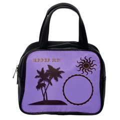 Summer Fun By Kim White   Classic Handbag (two Sides)   V98k6fvzw5vz   Www Artscow Com Back
