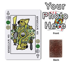 The Decktet By P D  Magnus   Playing Cards 54 Designs   8a1y20i7kspe   Www Artscow Com Front - Spade10