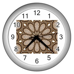 Cookie Rounds Wall Clock (Silver) by CharmingThingsandDesigns