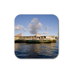 Hong Kong Ferry Rubber Square Coaster (4 Pack) by adriantesting