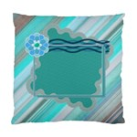 Blue Flower cushion case - Cushion Case (Two Sides)