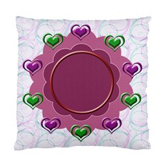Heart U Cushion Case By Daniela   Standard Cushion Case (two Sides)   3lqccfda9xhk   Www Artscow Com Front