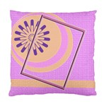 Pink orange cushion case - Cushion Case (Two Sides)
